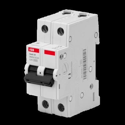 Автоматичний вимикач Abb Basic M, 2p, 63А,