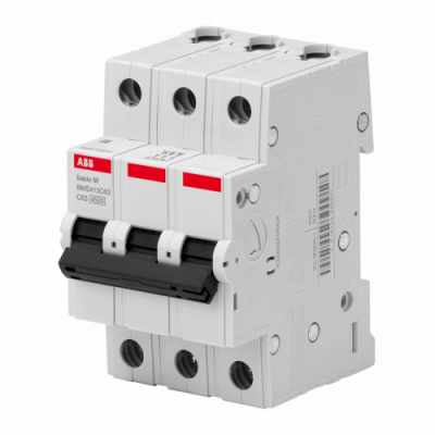 Автоматичний вимикач Abb Basic M, 3p, 10А,