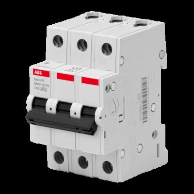 Автоматичний вимикач Abb Basic M, 3p, 50А,
