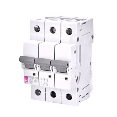 Автоматичний вимикач ETI ETIMAT 10 3p C 1,6А (10 kA)