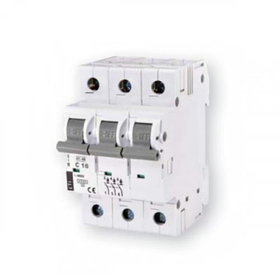 Автоматичний вимикач ETI ST-68 3p C 25А (4,5 kA)