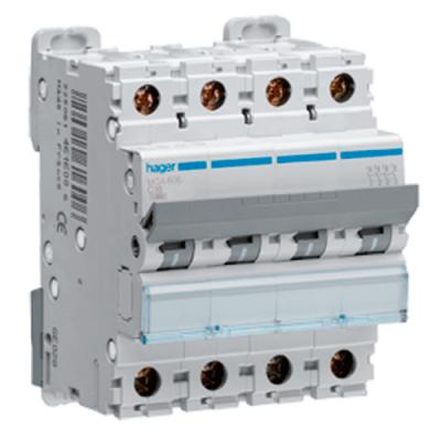 Автоматичний вимикач 4-тактовий HAGER 63 Ампер,3ф з 6 кА