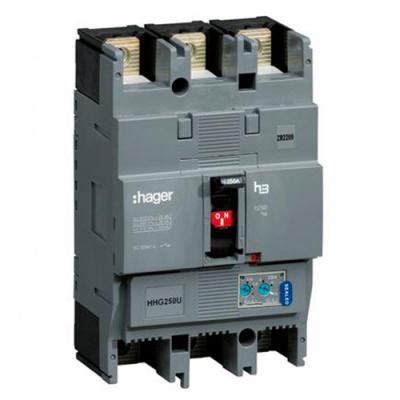 Автоматичний вимикач h630 xs 3P3D 50kA 630A, 400В АС Hager HND630H