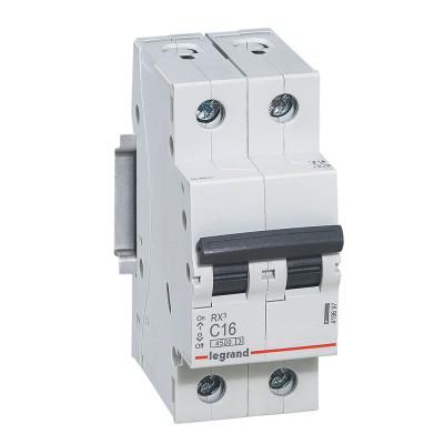 Автоматичний вимикач 2-п. 16А