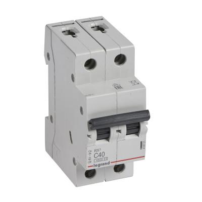 Автоматичний вимикач 2-п. 40А
