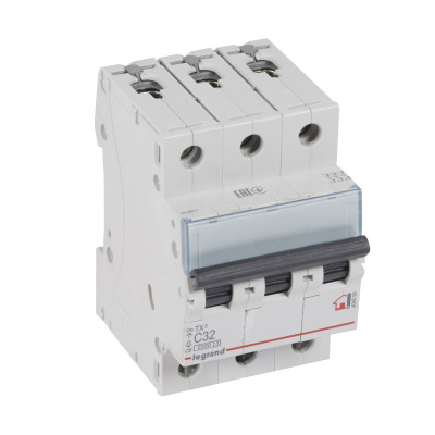 Автоматичний вимикач 3-п Legrand TX3 С32, 6кА