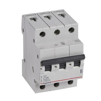 Автоматичний вимикач 3-п. 25А