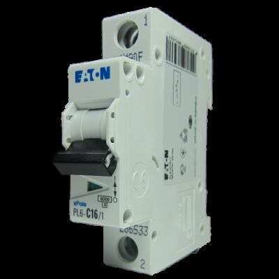 Автоматичний вимикач 1-фазний PL6 Eaton 50 Ампер, тип «B»