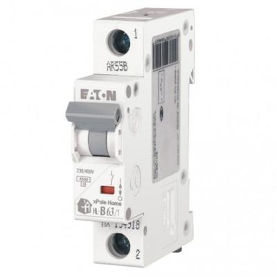 Автоматичний вимикач 1-п EATON xPole Home HL-B63/1