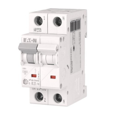 Автоматичний вимикач 1p+N EATON xPole Home HL-B20/1N