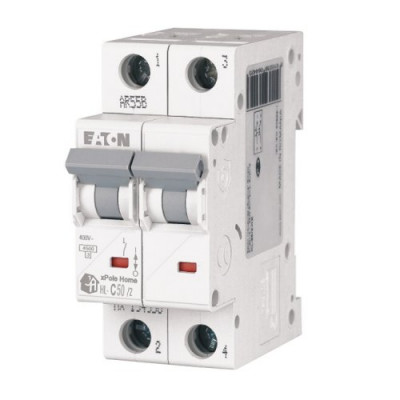 Автоматичний вимикач 2-п EATON xPole Home HL-C50/2