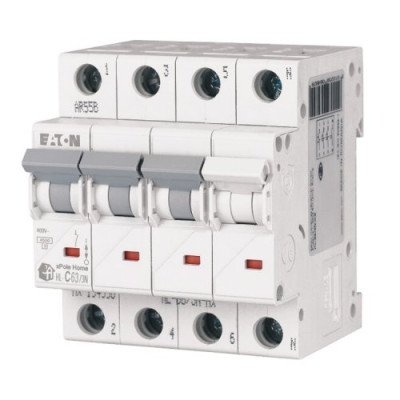 Автоматичний вимикач 3p+N EATON xPole Home HL-C63/3N