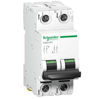 Автоматичний вимикач C60H-DC, 2P, 4A, C
