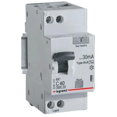 RX³ Диференційний автомат 1П+Н C 20A 30mA-AC